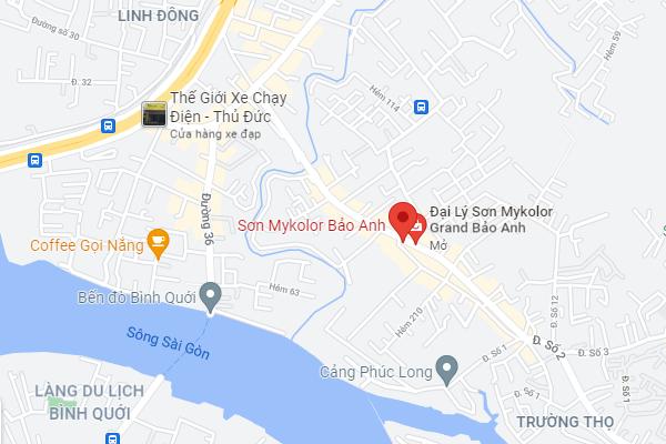Địa chỉ cửa hàng sơn Mykolor