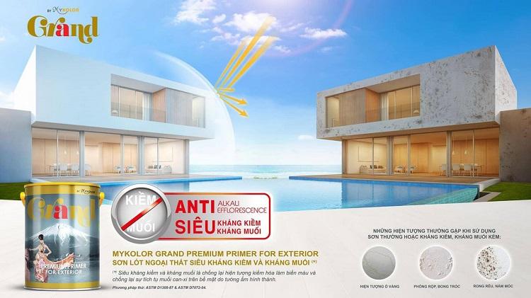 Sơn Mykolor Grand Premium Primer For Exterior
