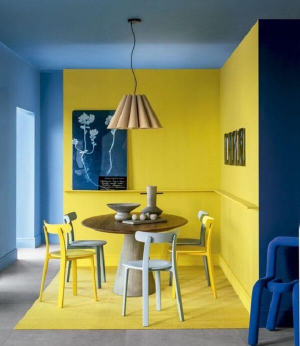 Màu xanh cổ điển kiến tạo không gian độc đáo