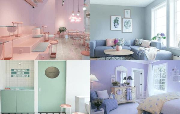 Sơn nhà màu pastel